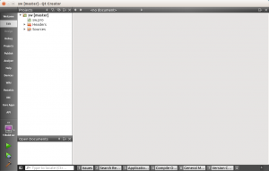 Opening Qt creator with 'sw' project file