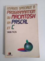 Livre 'Programmation du Mac en Pascal et C'
