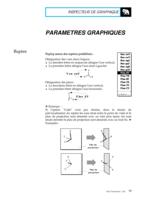 Manuel Post : Paramètres Graphiques 15