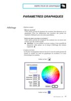 Manuel Post : Paramètres Graphiques 21