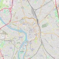 Variante 3 : un point centré et une distance minimale à 2000m : carte finale