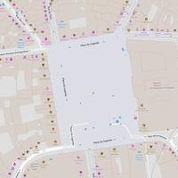 Variante 3 : un point centré et une distance minimale à 50m : carte finale